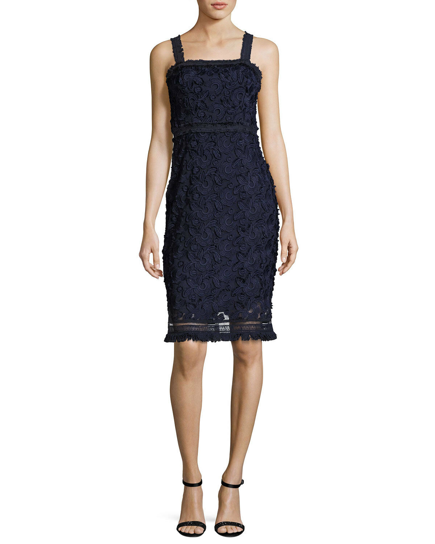 Trina Turk Energetic Dress NAVY Größe 10