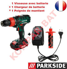 Parkside 20 V 3 en 1 Sans Fil Impact Perceuse Unité Nue PSBSA 20-LI B2