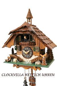 cuckoo-clock-black-forest-quartz-german-wood-batterie-house-style-handmade-new