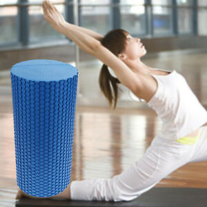 Massage EVA Trigger Point 30x10cm Roller Yoga Pilates Home Gym Hot Foam New