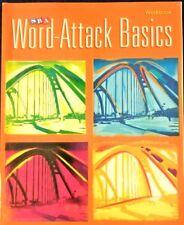 Corrective Reading Decoding Level A, Workbook Word Attack Basics SRA McGraw Hill