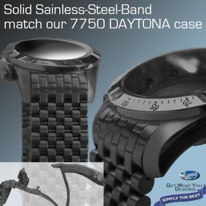 WATCH-BAND-MATCH-OUR-BLACK-PVD-DAYTONA-7750-CASE-20-MM-LUG