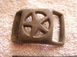 Antique-Military-Buckle-with-Star