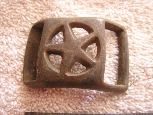 Antique Military Buckle with Star