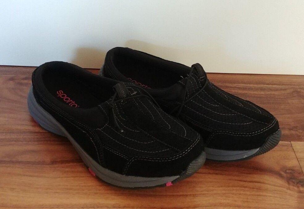 NEW Women's SPORTO Athletic Jessica Slip On Black Athletic SPORTO Walking Shoes Size 7 US f58a41