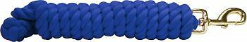 """Showman COTTON LEAD ROPE Braided 3//4/"""" x 10/' with BRASS Snap"""