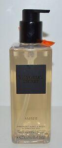 Nuevo-VICTORIA-039-S-Secret-Amber-Mandarin-Fragancia-Mano-Cuerpo-Gel-de-Limpieza