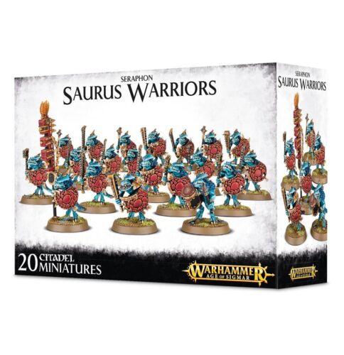 Saurus Warriors GW 88-06 NIB Warhammer Age of Sigmar Seraphon
