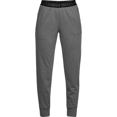 Schlussverkauf Under Armour Play Up Pants Sport Training Hose Lange Tights Carbon 1311332-090