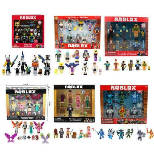 4pcs//6Pcs//9pcs Set Roblox Action Figures PVC Toys Game Roblox Kids Xmas Gift