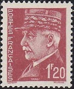 FRANCE-STAMP-TIMBRE-N-515-034-MARECHAL-PETAIN-1F20-034-NEUF-xx-TTB