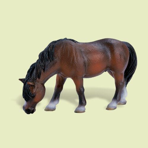 """/""""reitpony grasend/"""" /"""" Riding Pony/"""" Schleich-Neuf avec drapeaux-NEW with tag!!! 13299"""