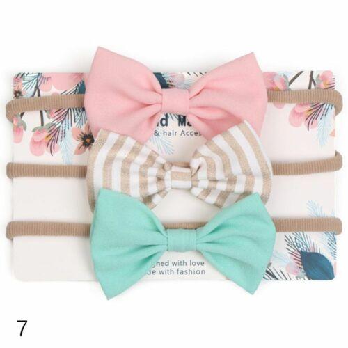 accessoires baby stirnband bowknot baumwolle elastische haar