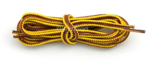 "Yellow Brown 180cm Long Hiking Trekking Shoe Work Boot Laces Trek Hike 72/"" Inch"