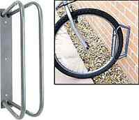 Bicycle cycle floor wall mounted parking stand rack rail storage mountain bike