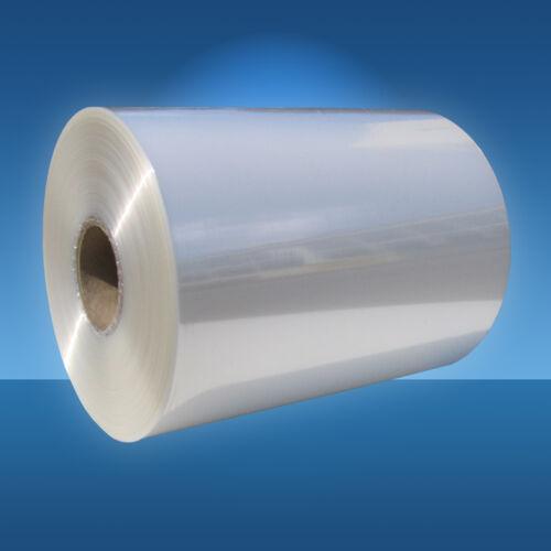 shrink film Schrumpffolie 350 mm Halbschlauch 19 µm Schrumpffolien