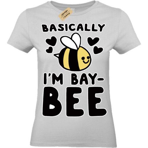 Bay Bee T-Shirt bae baby Womens Ladies top