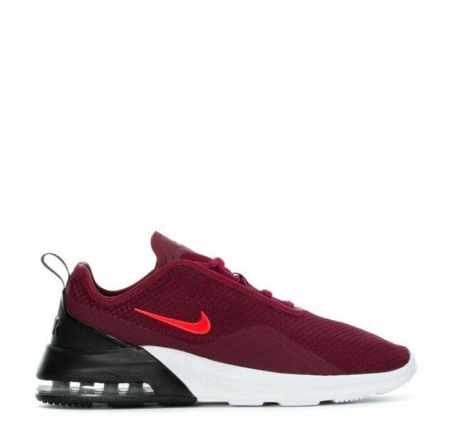Nike Air Max Motion II Shoes Team Red Bright Crimson Black AO0266 602 Men's NEW