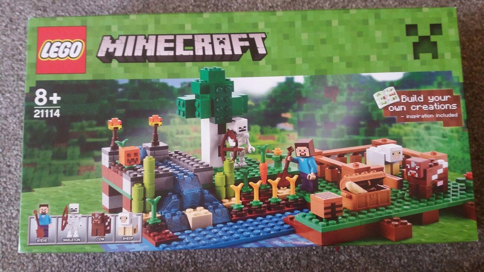 NEUF Lego Minecraft la  ferme (21114)  grand choix et livraison rapide