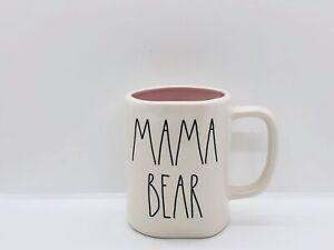 Rae-Dunn-Mom-Collection-By-Magenta-MAMA-BEAR-Pink-Interior-Farmhouse-Coffee-Mug