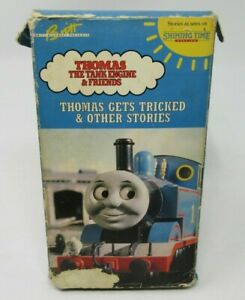 THOMAS-THE-TANK-ENGINE-amp-FRIENDS-THOMAS-GETS-TRICKED-amp-OTHER-STORIES-VHS-VIDEO