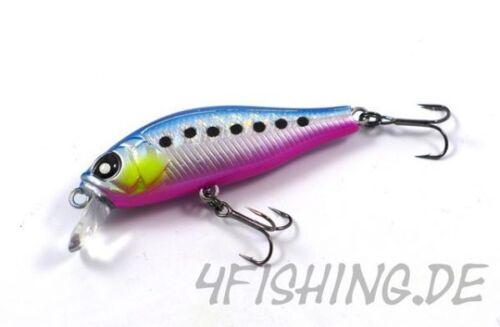 ANIRA 49SP von LUCKY JOHN  Farbe 106 Highend-Wobbler für Forelle /& Barsch!!!
