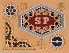 Steampunk Craftaid (76605-00)-Embossing,Leathercraft