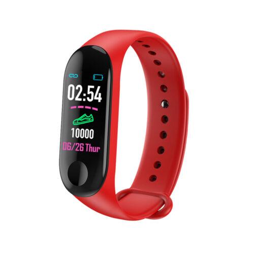 M3 Sport Activity Tracker Smartwatch Wristband Blood Pressure Heart Rate Tracker
