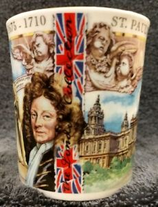 NEW-FINE-BONE-CHINA-Mug-Coffee-Cup-1675-1710-London-England-St-Paul-039-s-Cathedral