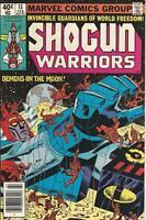 Marvel Comics Shogun Warriors Vol 1 (1979 Series) # 13 VF+