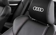 AUDI RINGS CAR SEAT DECALS - A1 A2 A3 A4 A5 A6 TT Vinyl Stickers - Graphics X5