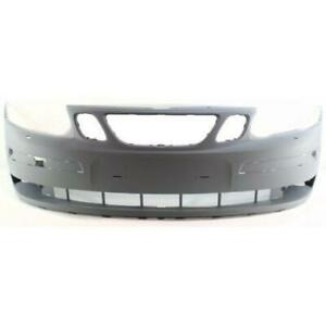 Bumper Cover For 2004-2007 Saab 9-3 Front Primed With Headlight Washer Holes