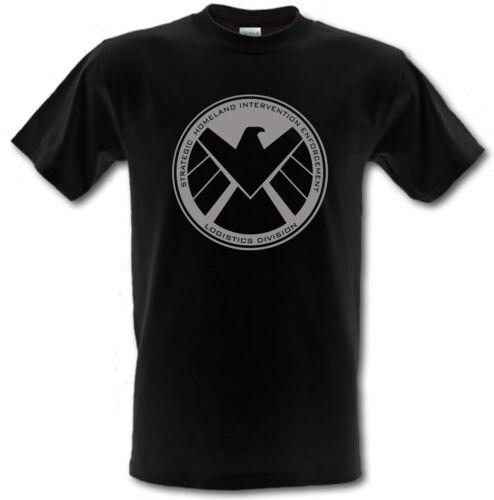 Agenti di s.h.i.e.l Scudo Supereroe 100/% cotone per bambini T-Shirt Tutte Le Età