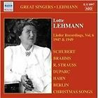 Lotte Lehmann, Vol. 6: Lieder Recordings, 1947 (2007)