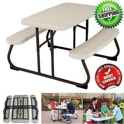 Magnificent Lifetime Kids Picnic Table Outdoor Patio Furniture Folding Pabps2019 Chair Design Images Pabps2019Com