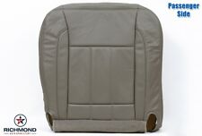 2008 Dodge Ram 4500 5500 Laramie -Passenger Bottom Leather Seat Cover Khaki Tan
