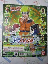 Anime Comic Manga Naruto Full Color Gashapon Toy Machine Paper Card Bandai Japan