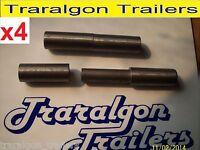 4x Tailgate Hinges For Trailer, Go Kart, Ute, Camper, Door, Window, 115mm M60