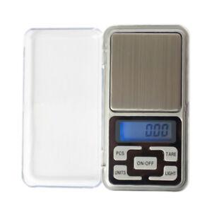 Digital-LCD-Feinwaage-Waage-Taschenwaage-Briefwaage-Goldwaage-200gx0-01g-Mini