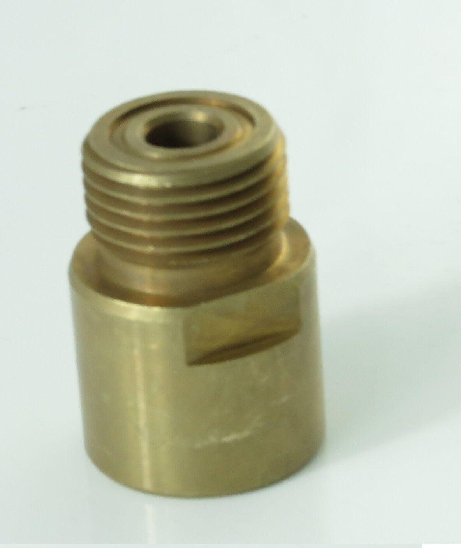 adapter for sodastream cylinder converts to us cga320 co2 regulators ebay. Black Bedroom Furniture Sets. Home Design Ideas
