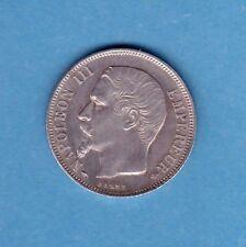 (F.66) UN FRANC NAPOLÉON III 1856 A (PARIS)  ( SPL)