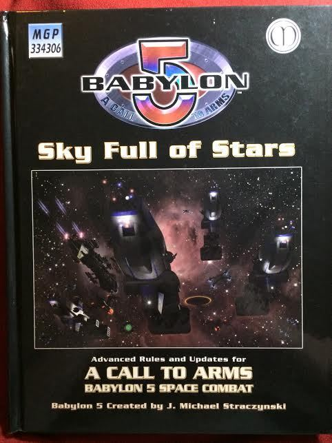 Babylon 5  una llamada a las armas-cielo lleno de estrellas-Mangosta Nuevo
