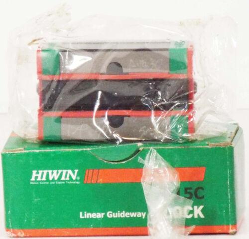 1 NEW HIWIN EGH15CAZ0 LINEAR GUIDEWAY SLIDE BLOCK ***MAKE OFFER***