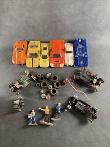 Vintage Lot Of 1/32 Slot Car Parts Strombecker, Etc
