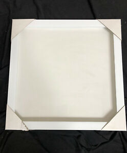 20x20 Shadow Box White Frame Buy 1 Get 1 Free Ebay