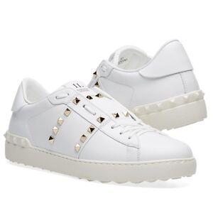 63429dbafd38 Image is loading 100-Authentic-Valentino-Garavani-Rockstud-Untitled-Sneaker- White-