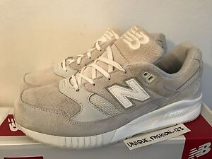 newest collection 6b6a3 c1771 Details about NEW BALANCE 530 AW US 8.5 UK 8 42 ENCAP MONO WHITE TRAINERS  GREY GRAY M530AW