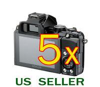 5x Olympus Stylus 1 Digital Camera Clear Lcd Screen Protector Guard Shield Film