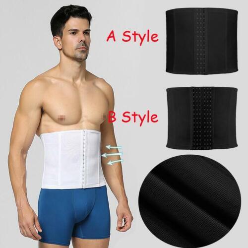 Mens Breathable Adjustable Belly Tummy Belt Slimming Body Girdle Abdomen Trainer