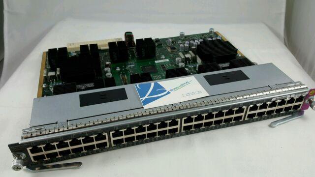 Cisco WS-X4648-RJ45V+E 48-Port PoE Catalyst Switch Blade 4500E IEEE Line Card